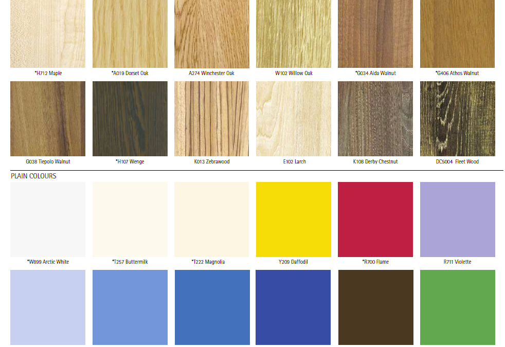 See our available colours on our website!